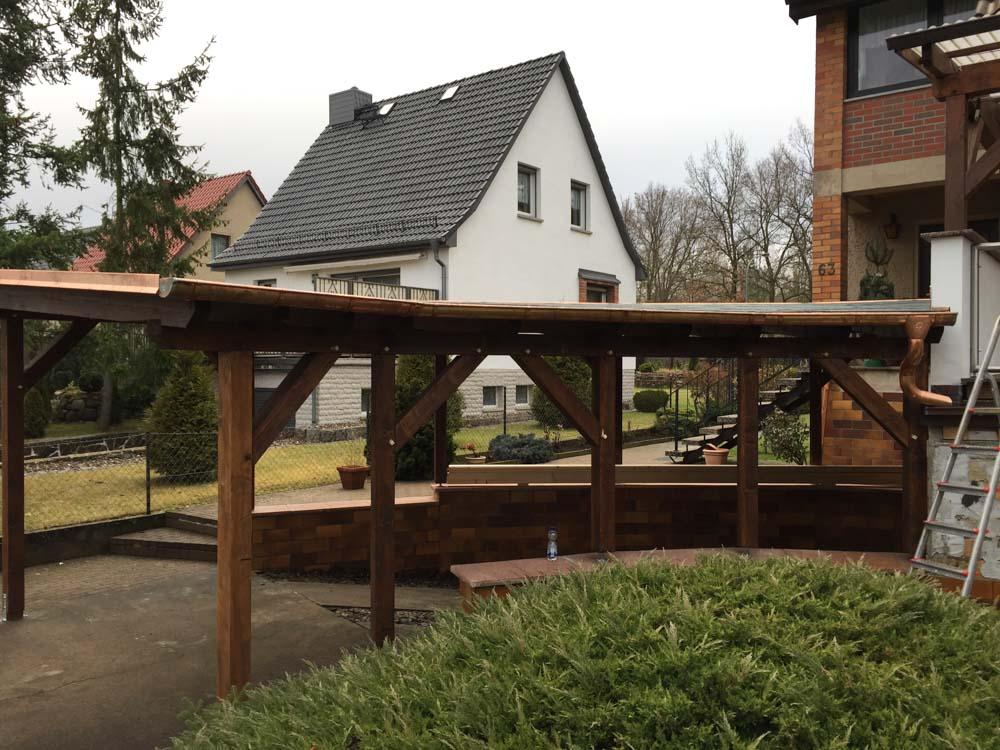 Holz-Überdachungen